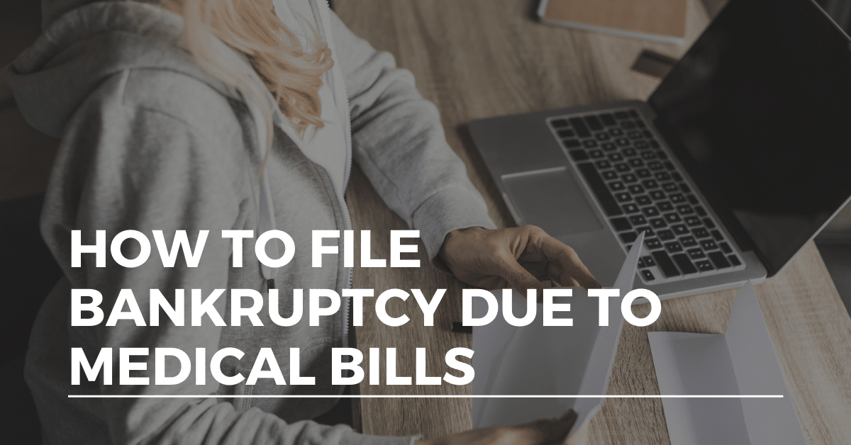 bankruptcy due to medical bills