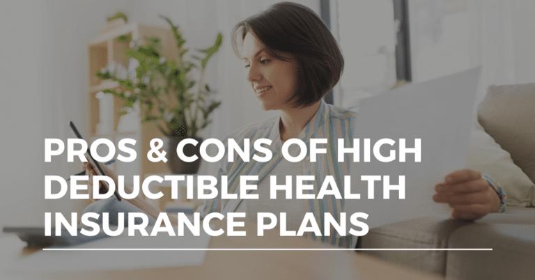 high deductible health insurance plan