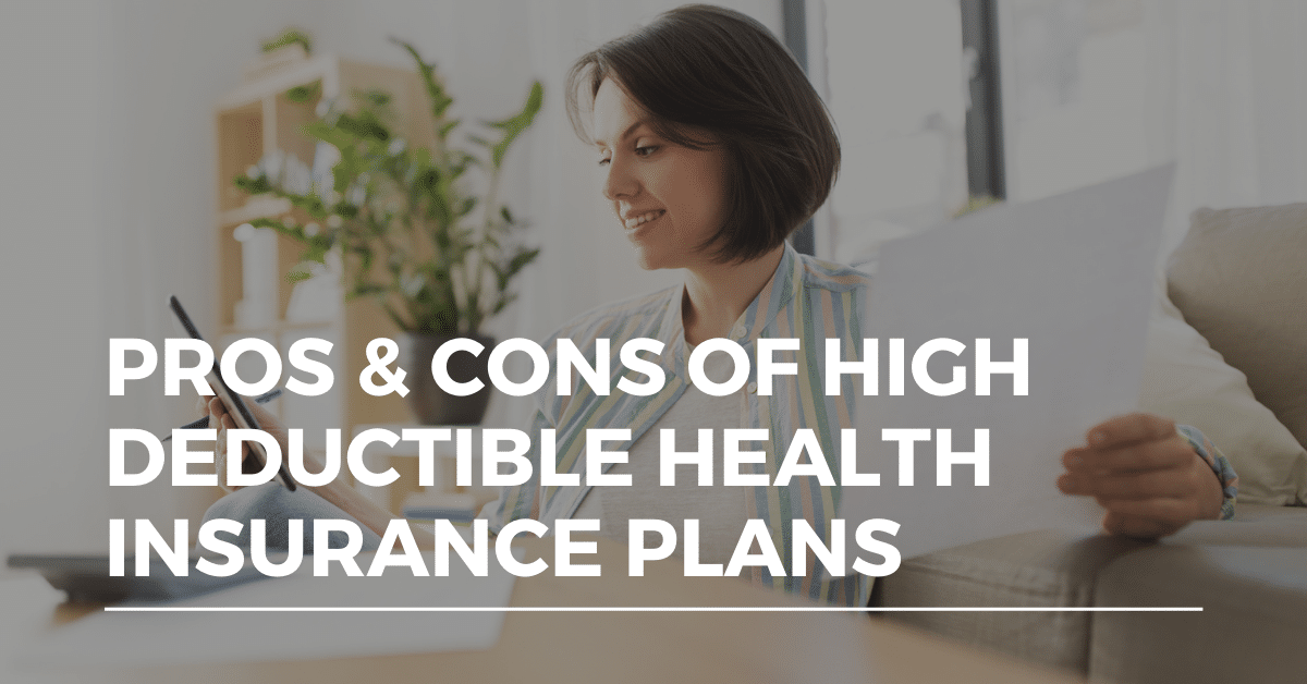 high deductible health insurance plan