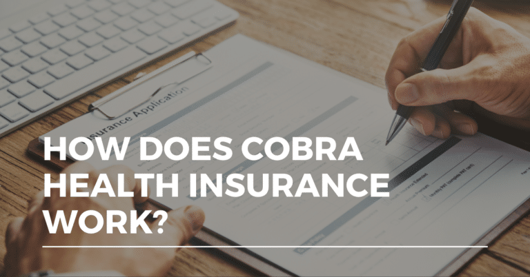 how does cobra health insurance work