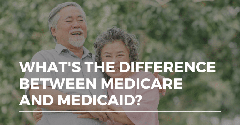 what's the difference between medicare and medicaid
