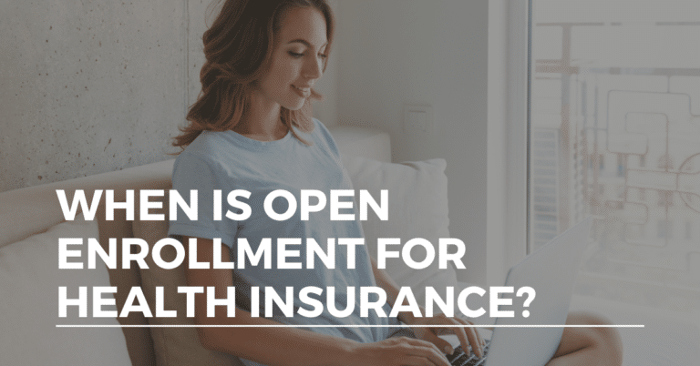 when is open enrollment for health insurance