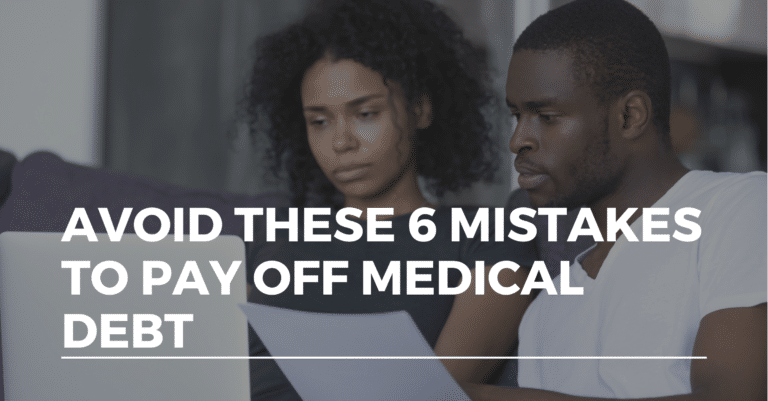 pay off medical debt