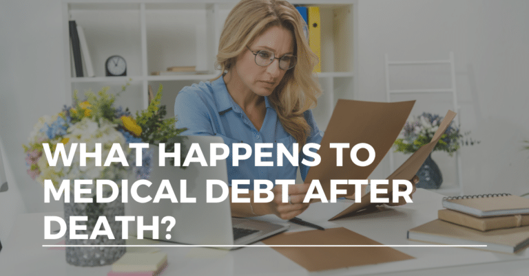 medical debt after death