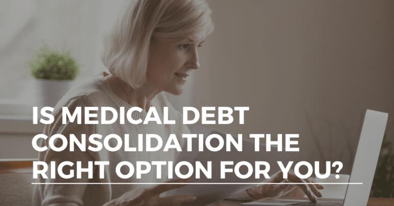 medical debt consolidation
