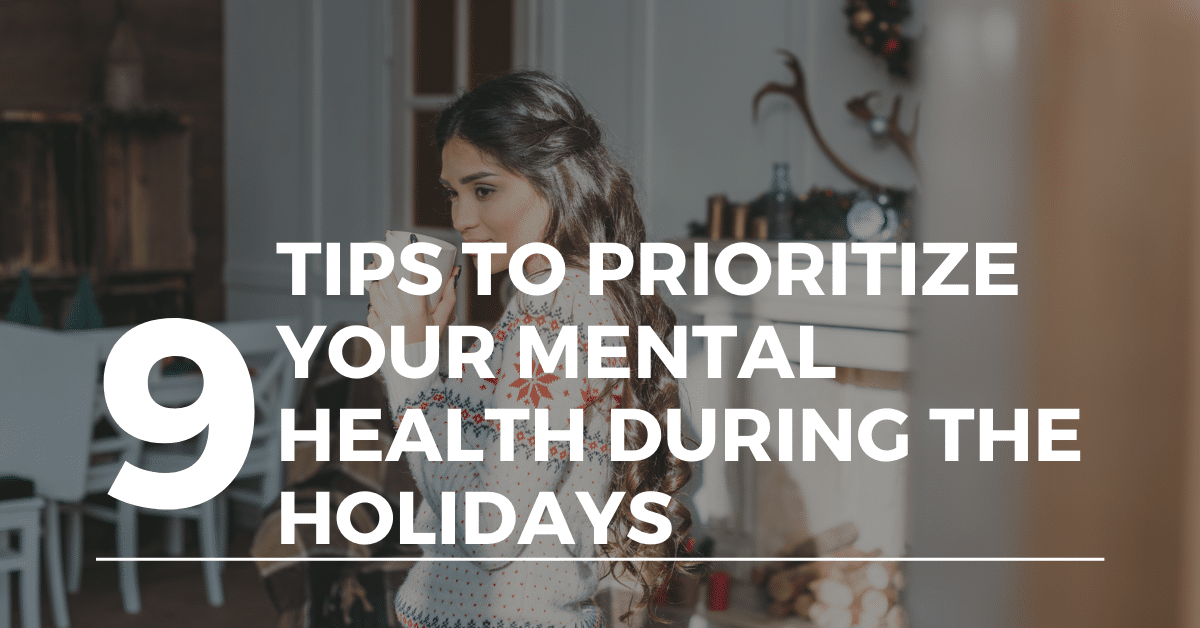mental health during the holidays